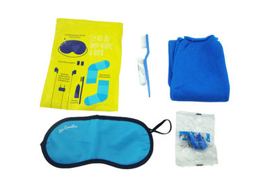 Cina Original Airline Amenity Kits / Five Contents Pack In Fresco Bag Travel Set pemasok
