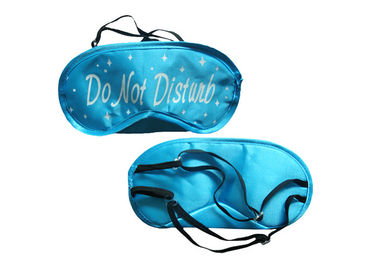 Cina Light Shading Sleep Blindfold Masker Mata Satin Eyemask Wearing At Night pabrik