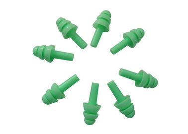 Cina Noise Reduction Ear Plugs 3CM Long * 1.4CM Dia.  Warna Hijau Segar pabrik