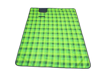 1.5*2*0.05m Green Color Outdoor Picnic Set With Fleece Material