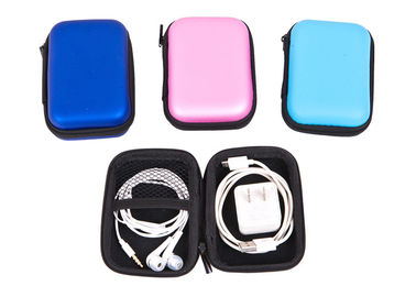 Cina Home Office Multi Function Earphone Carry Case With Print / Hang Tag Logo pabrik