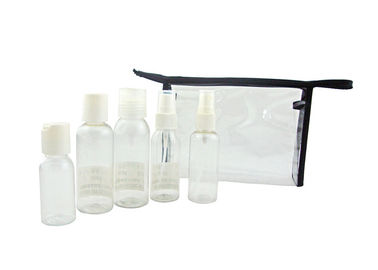 Customized Logo Airline Amenity Kits Travel Containers For Cosmetics