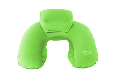 Cina Custom Holiday Cushion Inflatable Travel Neck Pillow U Shape For Airplane , Bedding pabrik