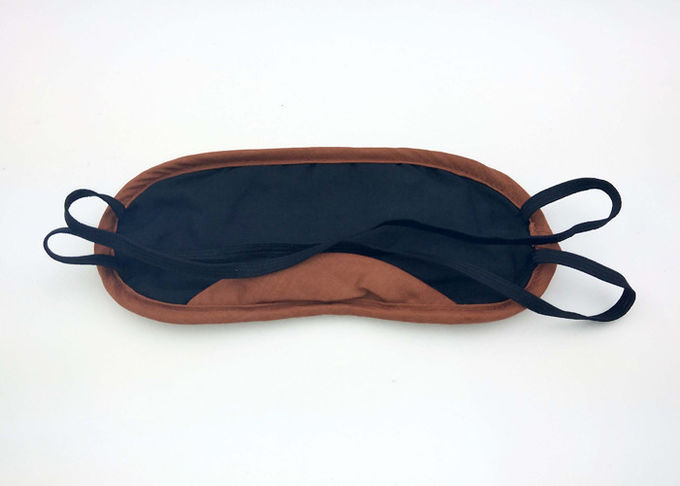 Novelty Promotion Custom Travel Sleeping Genuine Leather Eye Mask